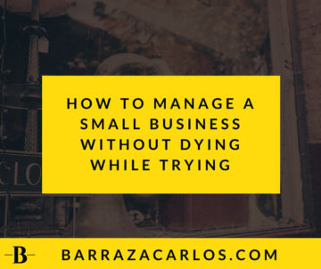 How to manage a small business