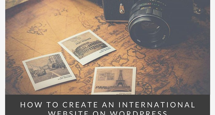 How to create an international website on wordpress