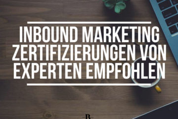 Inbound Marketing Zertifizierungen