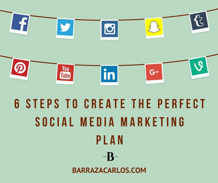 6 Steps To Do The Perfect Social Media Marketing Plan