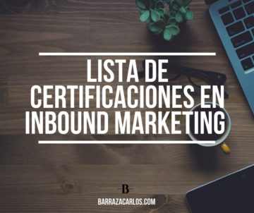certificaciones en Inbound Marketing