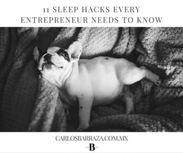 Sleep hacks for entrepeneurs