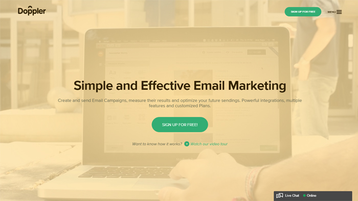Doppler email marketing