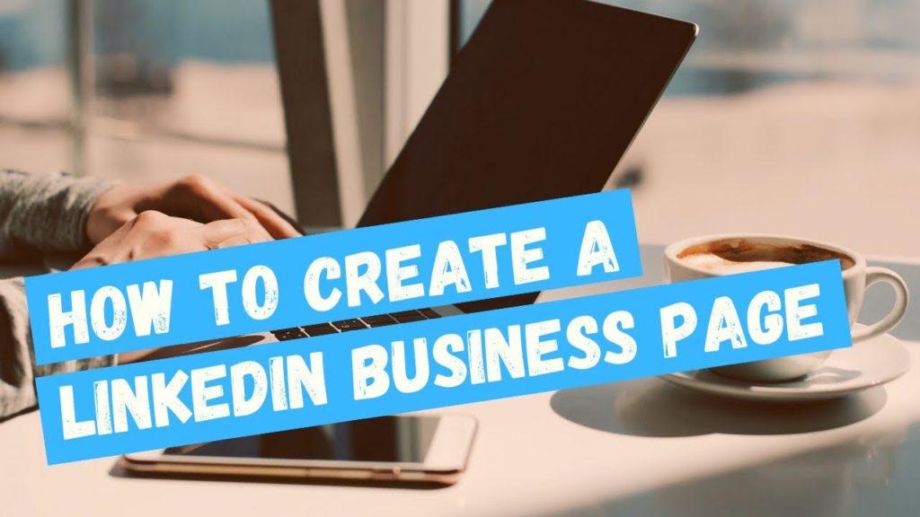 How to create a linkedin page