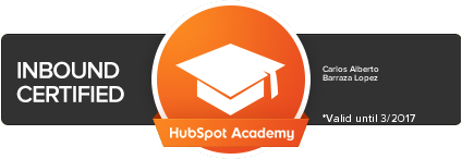 Hubspot Inbound Marketing Certificacion