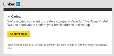 Linkedin Business Account Step 5