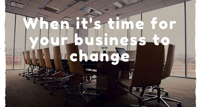 Changes on business
