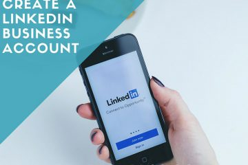 How to create a linkedin business account