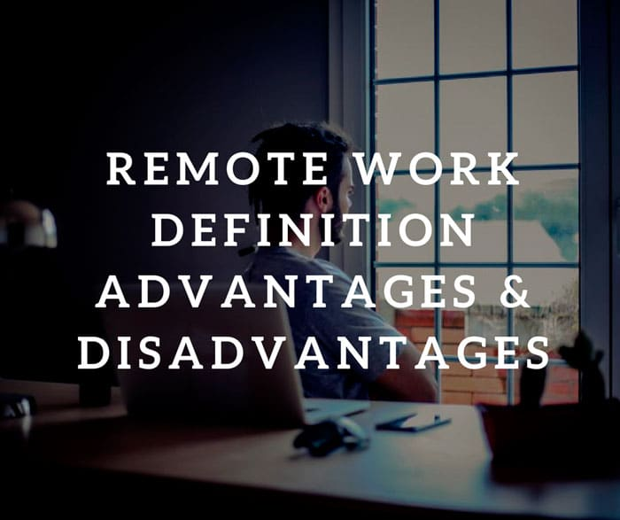 Remote Work Definition