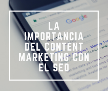 Importancia del Content Marketing