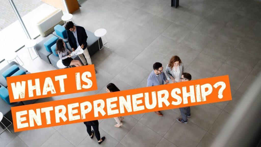 Qué es el emprendimiento