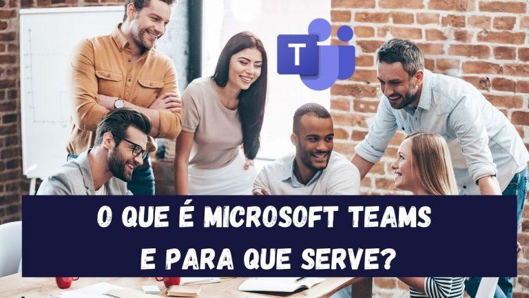 O que são as equipas da microsoft