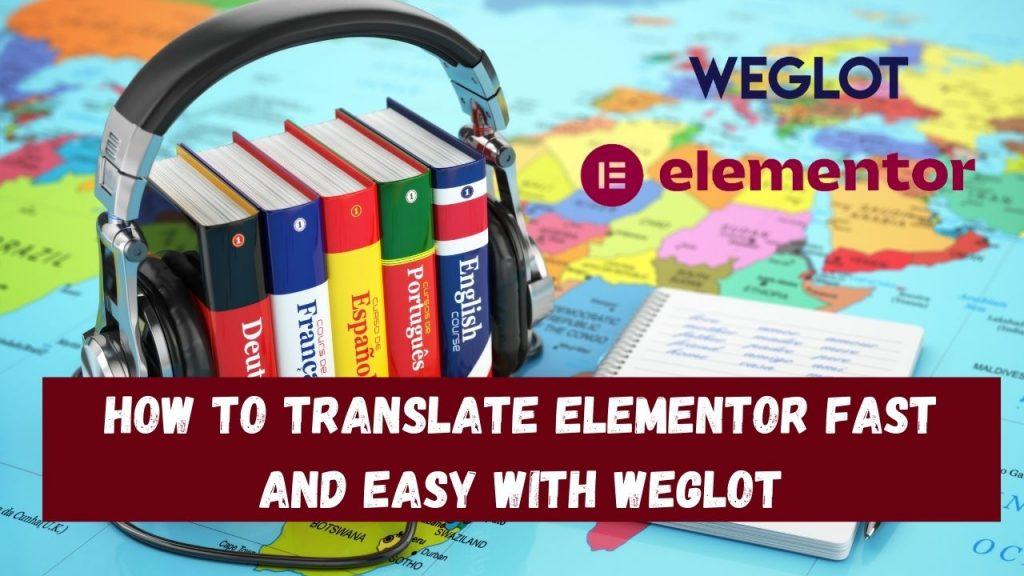 übersetzen elementor