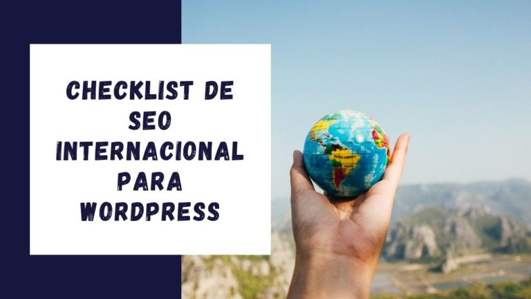Checklist de SEO Internacional para WordPress
