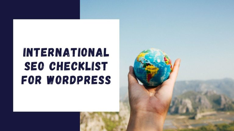 International Seo Checklist