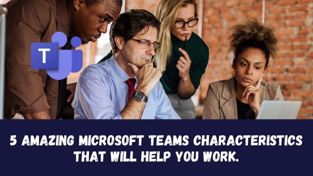 Microsoft Teams Merkmale