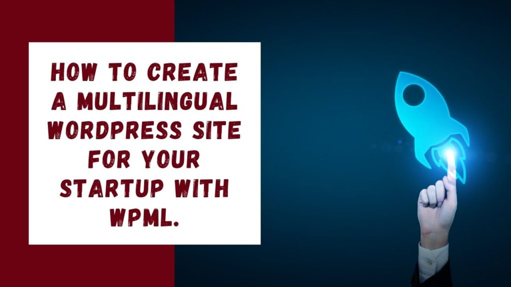 Multilingual WordPress Website for Startup