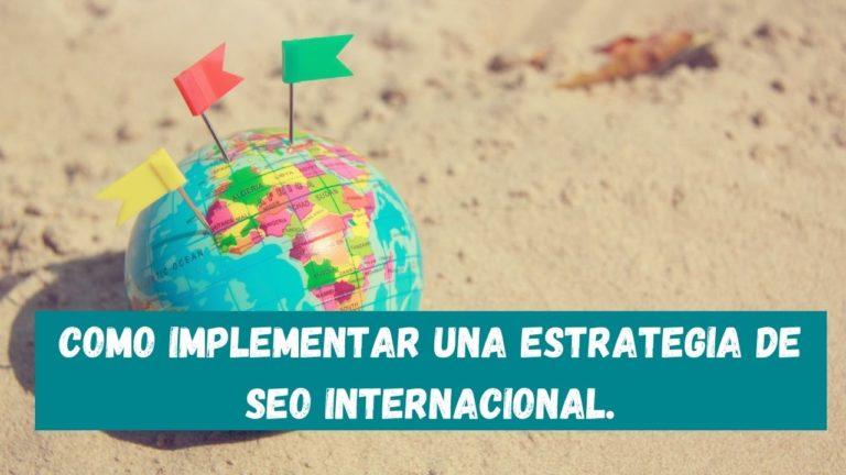 estrategia internacional seo