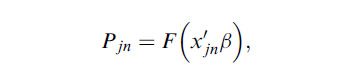 Binomial-Logit-Model