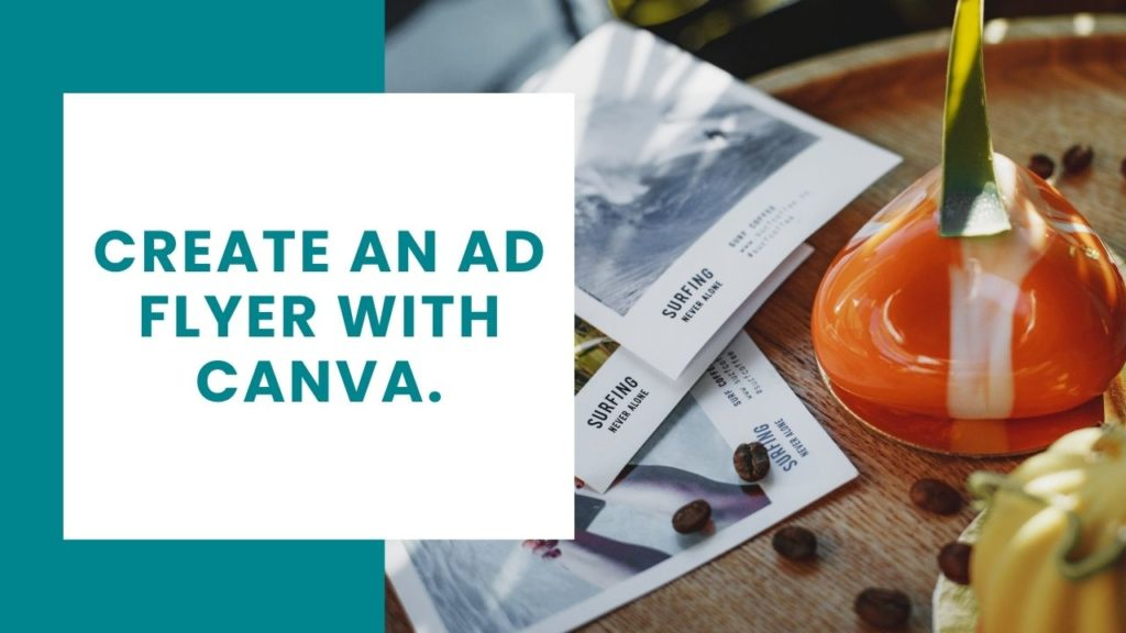 Create an ad flyer