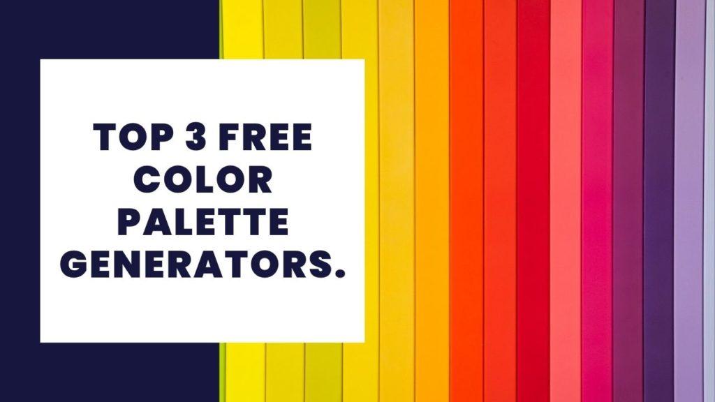 free color palette generators