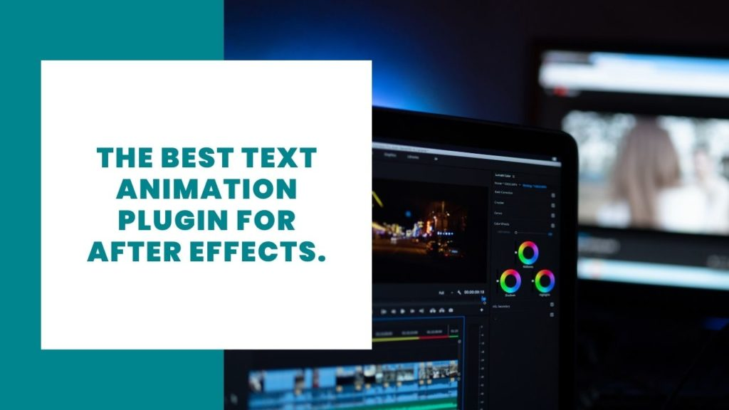text animation plugin for after effects
